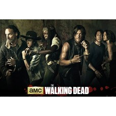 Walking Dead Season 5 Cast Maxi Poster