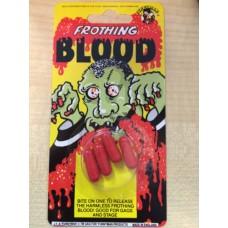 Halloween Fancy Dress False Blood Capsules