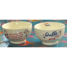 Wall's Ice Cream Retro 1922 Stoneware Bowl