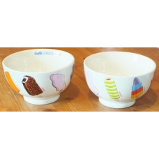 Wall's Ice Cream Classic Lollies Stoneware Bowl