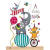 Elephant and Dog Circus Card Set by Rachel Ellen