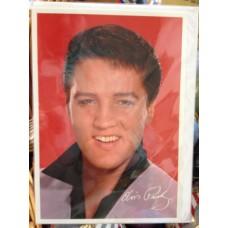 Elvis Card (Red)