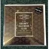 Grumpy Old Mens Club Fridge Magnet on Greeting Card