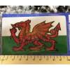 Welsh Flag 11cm x 6.5cm Car Sticker