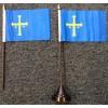 Spanish Asturias table/desk top flag