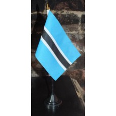 Botswana table/desk top flag
