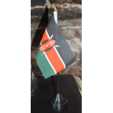 Kenya table/desk top flag