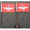Parachute Regiment table/desk top flag