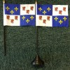 French Picardy Desk Top Flag