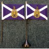 Royal Marines Scotland Reserve table/desk top flag