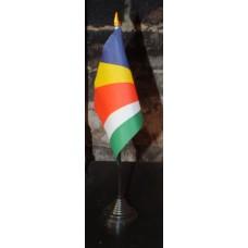 Seychelles table/desk top flag