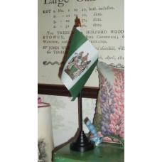 Rhodesian Desk Top Flag