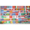 70 International Countries Flag