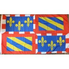 Burgundy Historic & Regional French Heraldic Flag