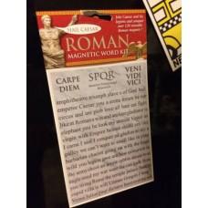 Roman 120 Words Magnets Set