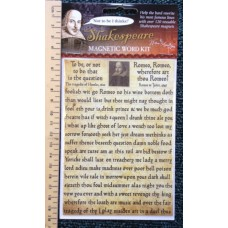 Shakespeare 120 Words Magnets Set
