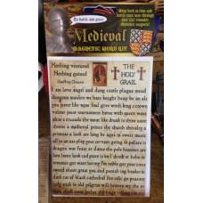 Medieval 120 Words Magnets Set