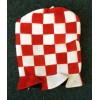Red and White Plush Top Hat