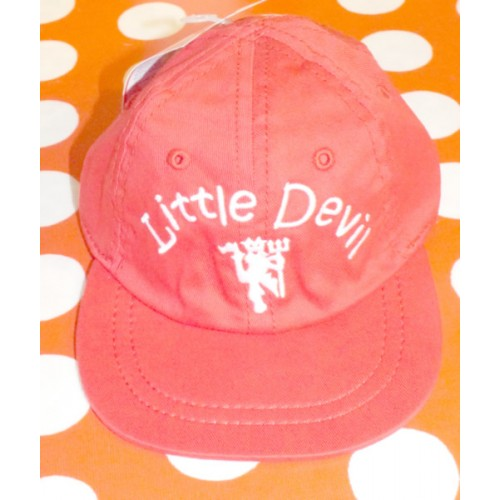 Manchester United Infants Little Devil Red Baseball Hat 137aa194384