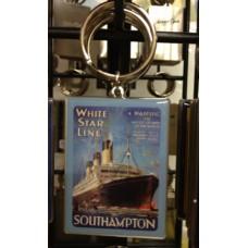White Star Line Southampton Keyring