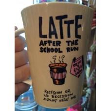 Latte After the School Run Tall Mug