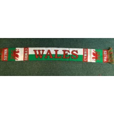 Wales Bold Welsh Supporters Scarf