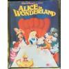 Alice in Wonderland Disney Film Poster A3 Metal Sign