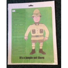Mr Benn Jungle Large Metal Sign