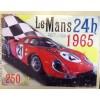 Le Mans 1965 Car Racing Large Metal Sign