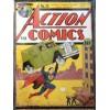 Superman Action Comics A3 Metal Sign