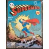 Superman Blue Comic Cover A3 Metal Sign