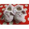 Pink Girls Fluffy Cute Rabbit Slippers