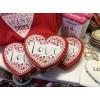 LOVE Heart-Shaped Keepsake Tin