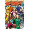 Big Bang Theory Bazinga SuperHeroes Maxi Poster
