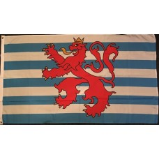 Luxembourg Lion Flag