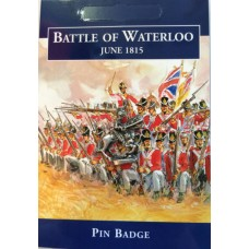 Battle of Waterloo Cavalryman Pewter Badge