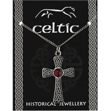 Celtic Gem Cross Pendant