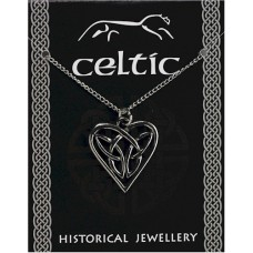 Celtic Heart Knotwork Pendant