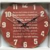 Welsh National Anthem Clock