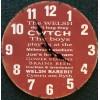 Welsh Cwtch Slogans Clock