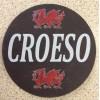 Slate Welsh Coaster - Croeso