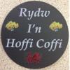 Slate Welsh Coaster - Hoffi Coffi