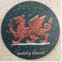 Slate Welsh Coaster - Nadolig Llawen