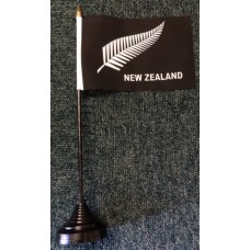 New Zealand All Blacks Fern table/desk top flag