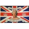 Royal 90th Jubilee 5 x 3 Flag