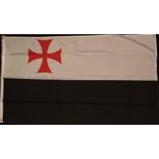 Knights Templar Crusade Maltese Cross Flag
