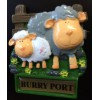 Burry Port Welsh Sheep Fridge Magnet