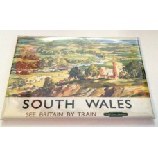 South Wales Railway Holiday Advert Fridge Magnet