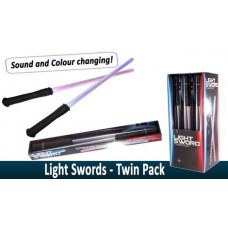 Star Wars Light Sabres Twin Pack