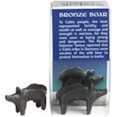 Celtic Bronze Boar Ornament
